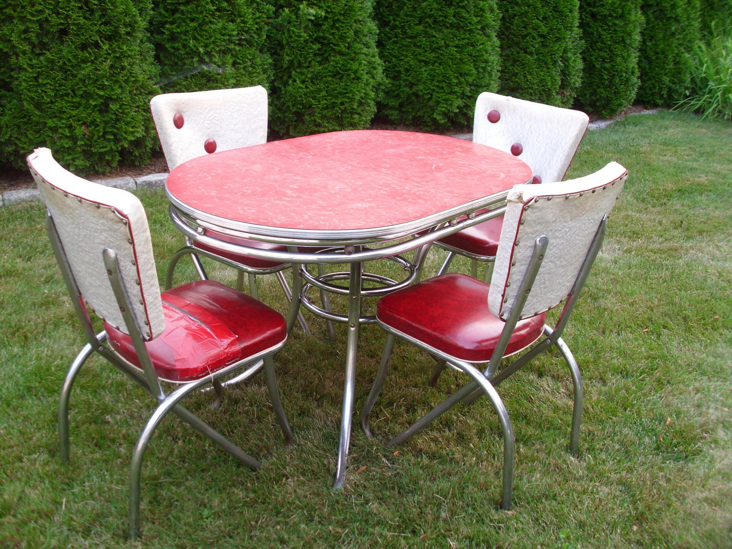Vintage 1950 S Kitchen Table Amp Chairs By 4theloveofvintage