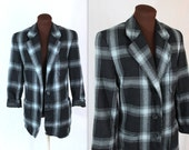 40% OFF SALE Mondi Jacket / Plaid Jacket / Designer Blazer