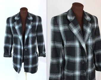 Mondi Jacket / Plaid Jacket / Designer Blazer