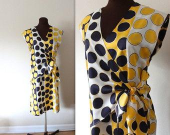 Tie Waist Dress /  Wrap Dress / Sheath Dress (m-l)