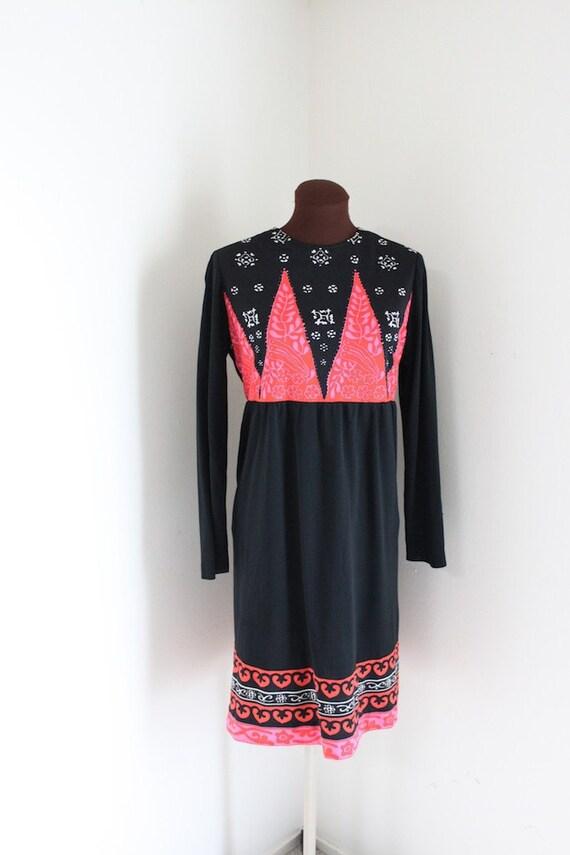 Vintage 1960's Summer of Love Fillmore Festival Dress (m-l)
