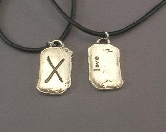 Love Rune Pendant Necklace
