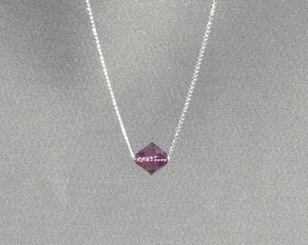February Birthstone- Amethyst Necklace