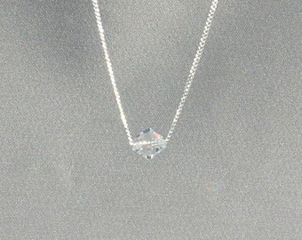 April Birthstone- Crystal Necklace