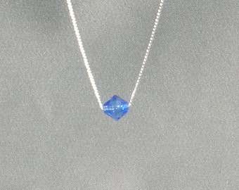 September Birthstone- Sapphire Necklace