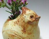 Ceramic Bird Vase