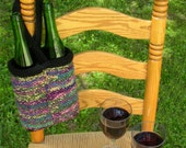 His Hers Wine Lover Bottle Tote Go-Too Bag