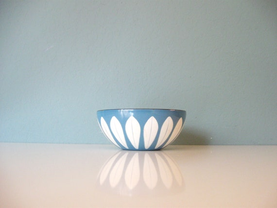 blue cathrineholm enamel bowl 2