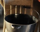 Vintage Black Pot - Photography Prop