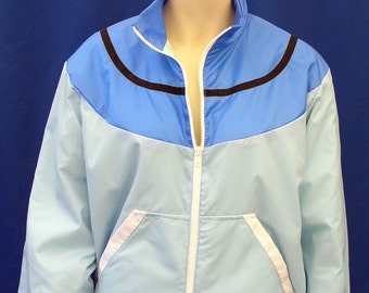 Pokemon Ash Black & White Trainer Windbreaker Jacket Hat Costume Prop