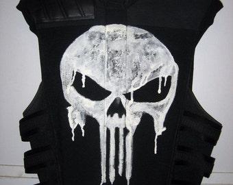 The Punisher Thomas Jane Faux Bulletproof Vest Costume Prop