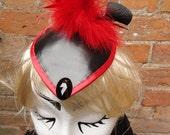 Scarlet Geisha Fascinator