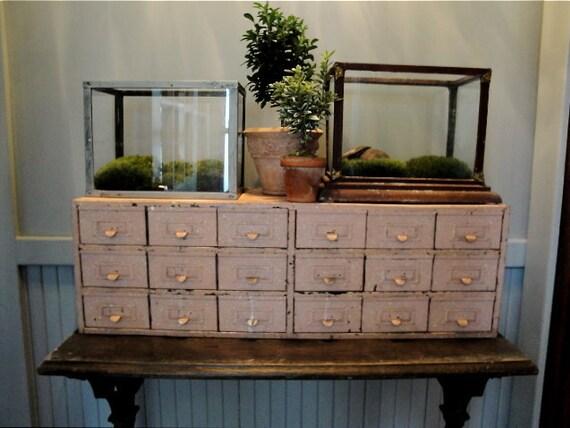 Vintage industrial 18 draw cabinet