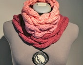 Cotton Knitted Braided Multi Strand Knit Cowl - DIFFERENT COLOURS