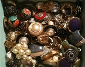 Lot of mixed 80 s Vintage Jewelry