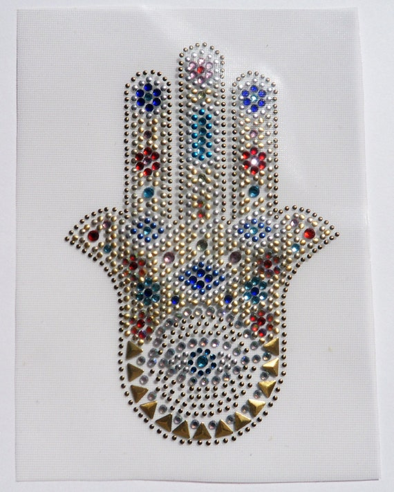 Hand of Fatima Iron On