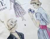 SALE- Vintage Vogue Dress and Slip Pattern- 3206 Size 9- 29 1/2 Bust 33 1/2 Hip -A