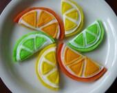 Citrus Fruits - Felt Play Food