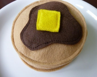 Pancakes - Felt Play Food