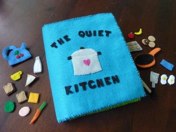The Quiet Kitchen - Children's Quiet Activity Book