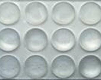 plastic dots, bump ons, 144 pieces, furniture protectors crafts