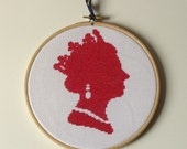 Queen Elizabeth Counted Cross Stitch Kit