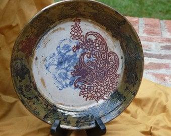 Paisley Plate