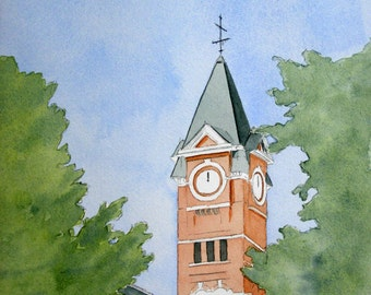 Samford Tower note cards