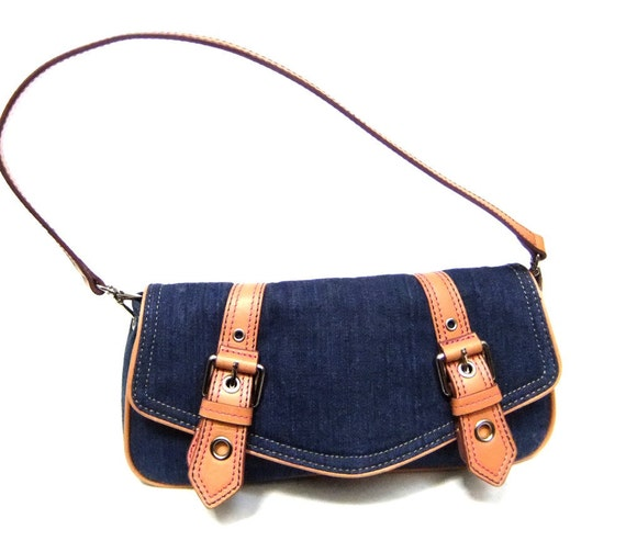 Vintage Wilsons Leather Clutch/Handbag by Sophistifunk Vintage