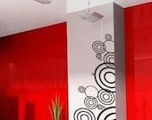 large Wall Decor Decal Sticker Removable Vinyl circles