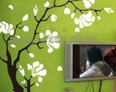 large Wall Decor Decal Sticker Removable Vinyl magnolia