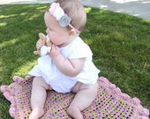"""Reserved for Erin....Design Your Own -- My 1st """"Wubby"""" Baby Security Blanket --Organic Cotton --Toddler Custom Order"""