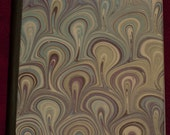 Altered composition notebook -- Swirls