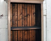 3-Shelf Modern Country Bookcase
