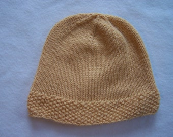 Cornmeal Wool Blend Hat