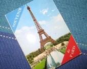 Paris Souvenir Accordion Photo Booklet