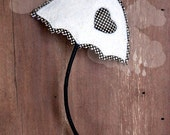 White Umbrella Brooch