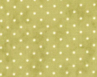 MODA-Essential Dots in warm green