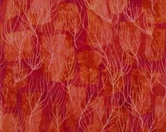 Serenity-terra cotta branches-nature fabric-Clothworks