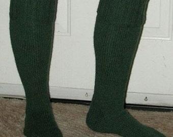 Knitting Pattern - Basic Kilt Hose