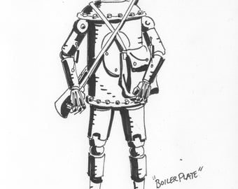 Boilerplate sketch by Paul Guinan