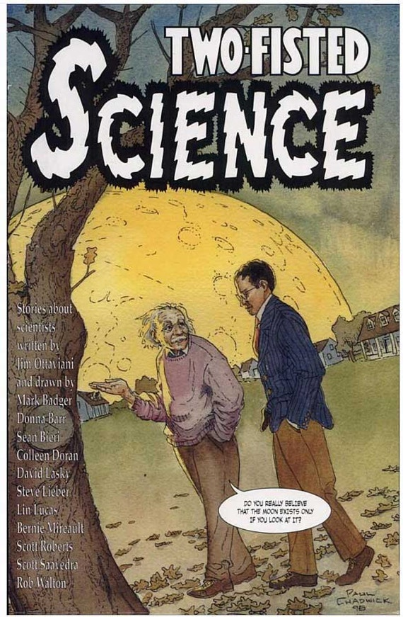 Two Fisted Science: Stories About Scientists- autographed by Lieber.