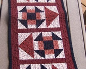 Going This Way Quilted Tablerunner