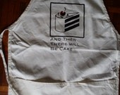 Aperture Science And Then There Will be Cake Apron