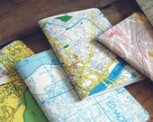City Recycled Map Notebooks (Set of 3)