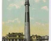 Absecon Lighthouse Atlantic City NJ 1913 postcard