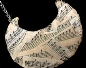 Music Statement Necklace unique shape