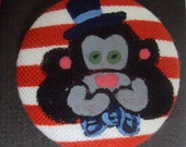 See no evil, Speak no evil, Hear no evil Cotton Button Monkey Magnets