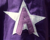 Custom Personalized Superhero Cape- You pick the inital and color