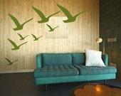 Sea Gulls Nursery Wall Art - Beach Baby Room - Vinyl decals sticker graphics tattoo stickers by 3rd Ave Shore 157